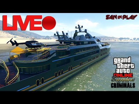 LIVE: ROLE DE IATE COM INSCRITOS  - GTA Online!