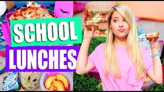 Diy Healthy Ish School Lunch Ideas