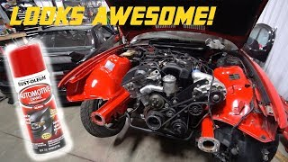 ENGINE BAY PAINT CORRECTION! *EASY & CHEAP*