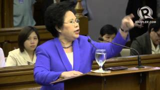 Miriam: Enrile a liar, womanizer, king of corrupt politics