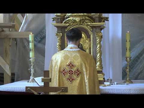 Телеканал Бужнет: Пряма трансляція Літургії із церкви св. Юра част 1