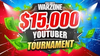 🔴 $15,000 WARZONE TOURNAMENT (Teeps Trials Week 4)