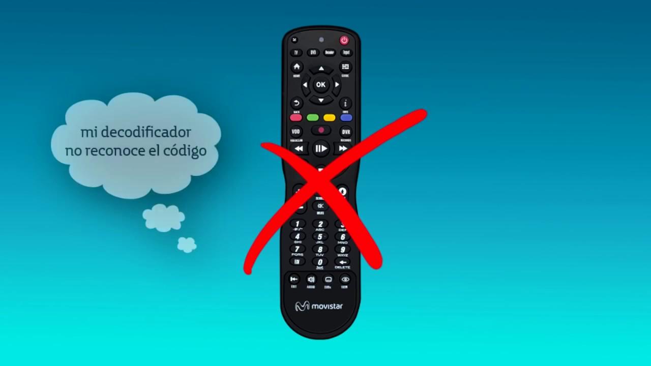 Soporte Configuración Control Remoto Universal Movistar TV
