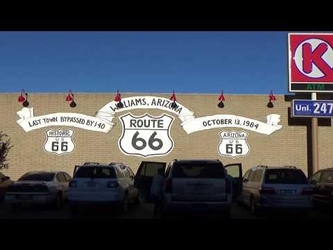 ROAD TRIP Williams Arizona Route 66