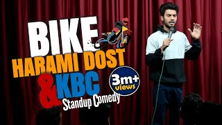 Bike, Harami Dost & KBC || Stand Up Comedy By Aditya Mehta