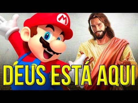 O CRIADOR BRASILEIRO RESPONDEU AS MINHAS PRECES, DEUS ESTÁ AQUI – Super Mario Maker (SUPER DIVINO)