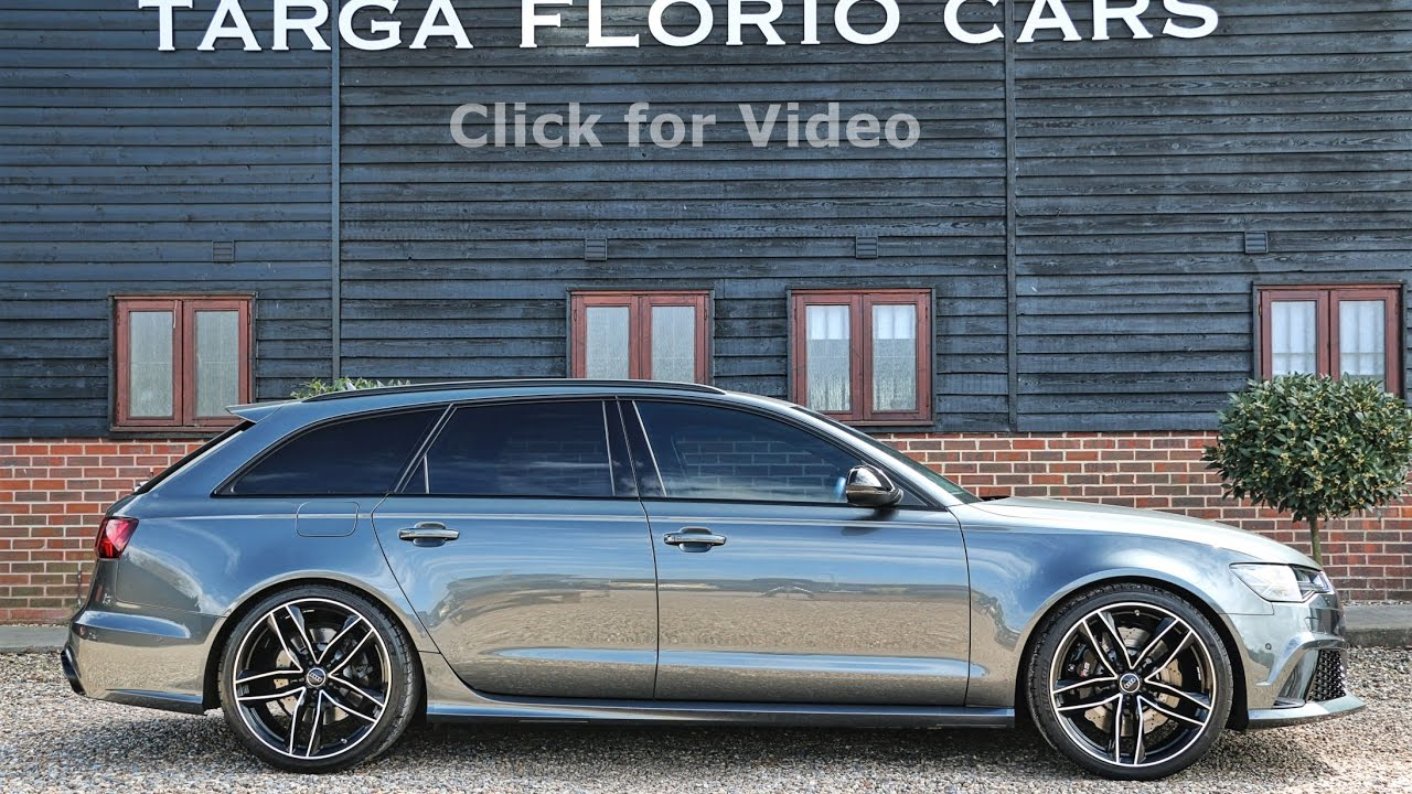 Audi Rs6 Avant 4 0 Tfsi Quattro Tiptronic In Daytona Grey Pearl Effect Paint Litchfield Stage