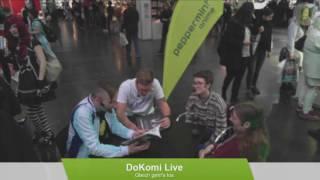 peppermint anime @ DoKomi 2016 - Interview mit Anna Backhausen und Sophie Schönhammer