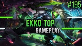 Ekko (Top): Feed Lane Win...??? #195 [Lets Play] [League of Legends] [German / Deutsch]