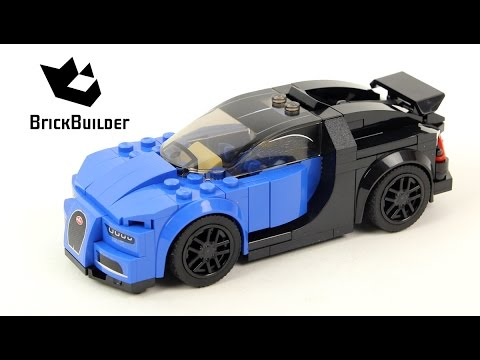 lego speed champions 75878 bugatti chiron lego speed. Black Bedroom Furniture Sets. Home Design Ideas