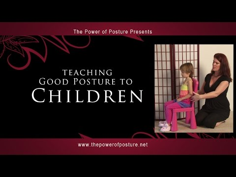 Teaching Good Posture to Children