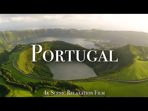 Portugal 4K - Scenic Relaxation Film With Calming Music