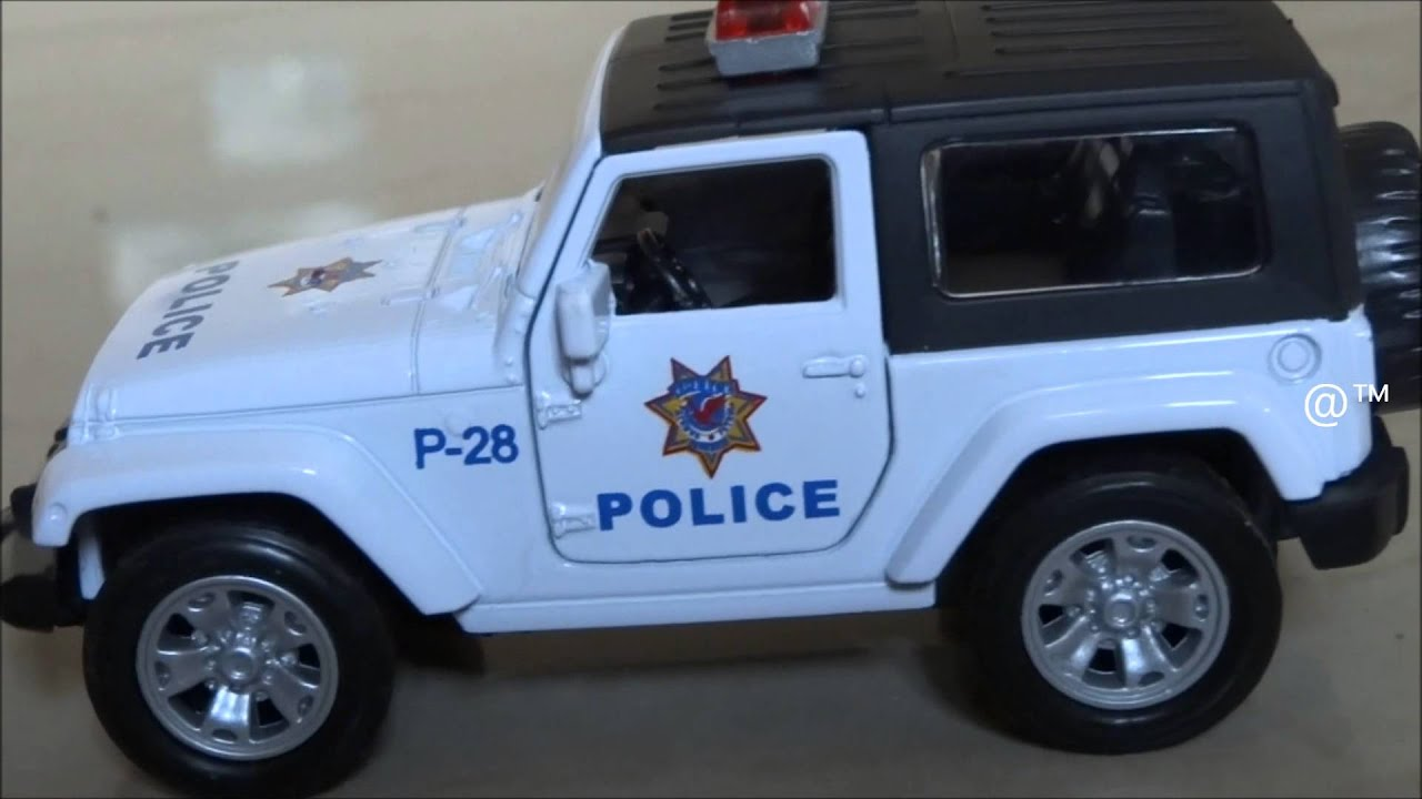 Toy Police Jeep Youtube