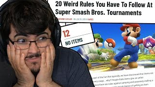 THIS IS ONE OF THE WORST ARTICLES EVER WRITTEN ABOUT SMASH BROS