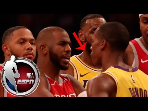 Lakers vs Rockets brawl as told by the players | NBA on ESPN Mp3