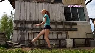Специальное Беговое Упражнения: Бег на Прямых Ногах / Тренировка / Спорт Влог / Упражнения Бегунам