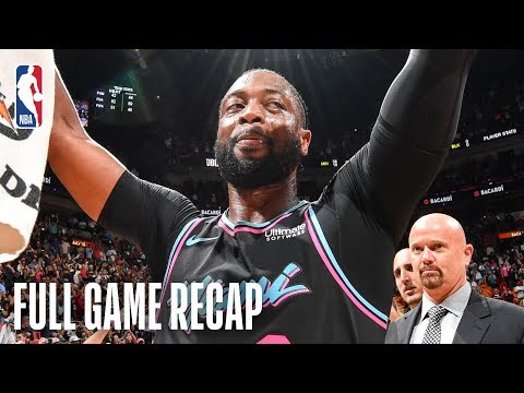 WARRIORS vs HEAT | Dwyane Wade Wins It For Miami | February 27, 2019