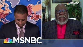 Watch: Bishop T.D. Jakes Leads MSNBC Broadcast In Short Prayer | Craig Melvin | MSNBC