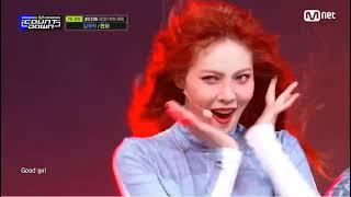 포미닛 현아 굿걸  21.02.18