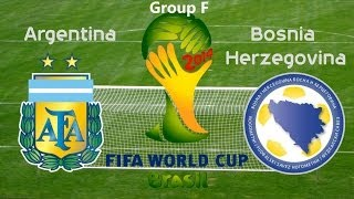 World Cup 2014: Argentina vs Bosnia Herzegovina (Game Analysis)