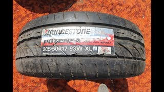 205 50 R17 93W Bridgestone Pot…