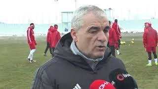 Sivasspor'da Trabzonspor mesaisi başladı - SİVAS