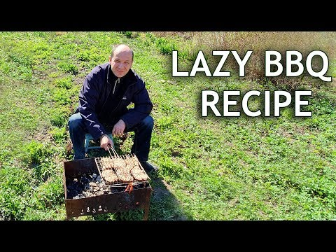 Russian BBQ Time: Lazy Grilled Catfish. Simple & Healthy Fish Recipe