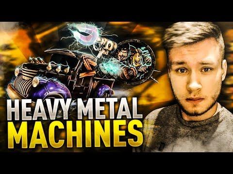 JEŻDŻĘ AUTEM I STRZELAM BRAMKI - Heavy Metal Machines