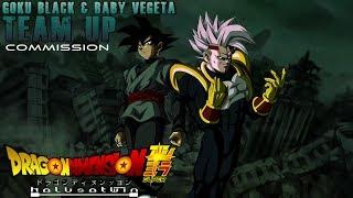 DDS: Goku Black & Baby Vegeta, Team Up [Commission]
