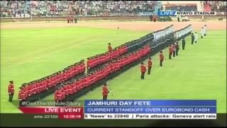 Blunder after Parade Commander drops sword during Jamhuri Celebrations
