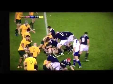 Australia beat Scotland in epic rugby match 2016