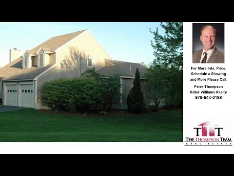 8 Meadow Drive, Littleton, MA Presented by Peter Thompson.