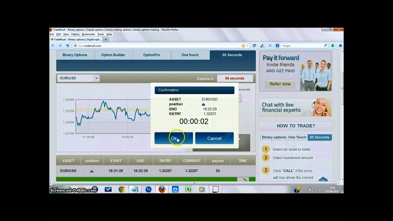 Franco binary options signals