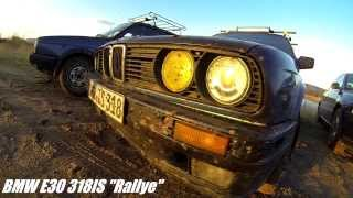 rallyecross drift action with bmw e30 audi a4 quattro mazda 4wd and golf 2 syncro
