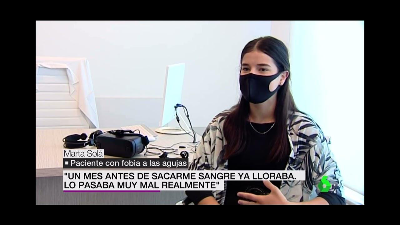 Fobia a las agujas en la Sexta Noticias