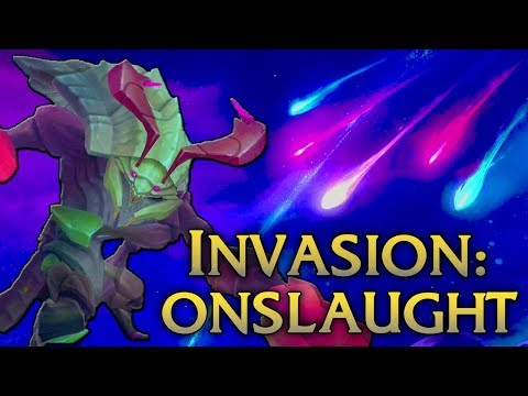 New Game Mode! How To Beat Invasion: Onslaught! - League of Legends Commentary
