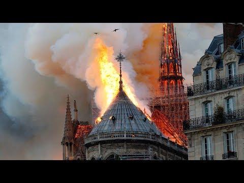 Пожар в Нотр