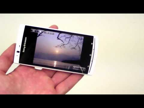 English: Sony Ericsson Xperia arc S video review