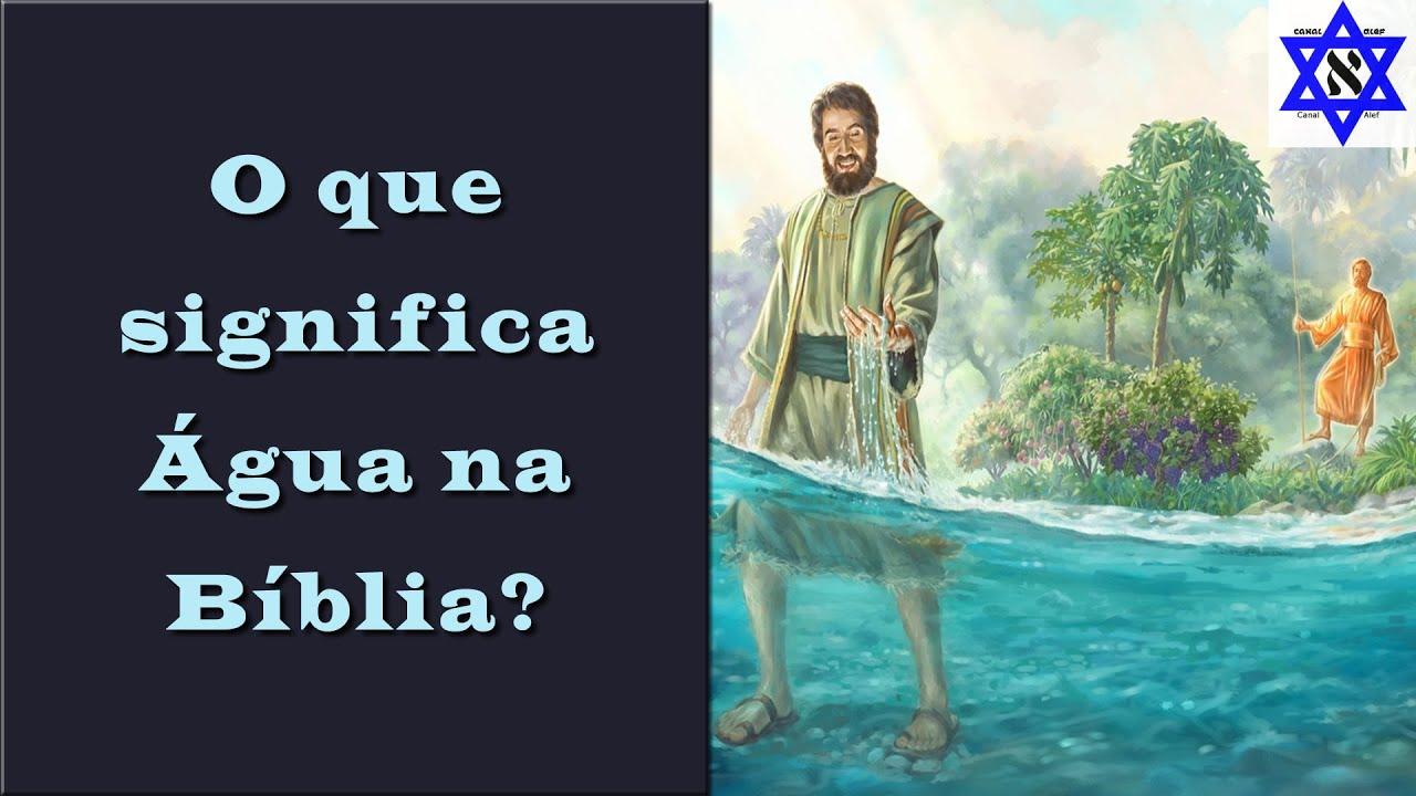 Porque a Água sai do altar? - Canal Alef