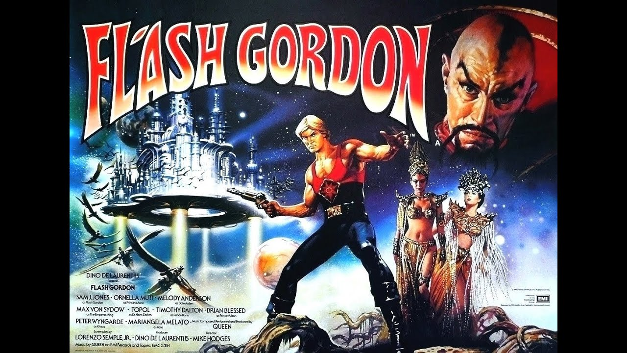 Image result for flash gordon queen video