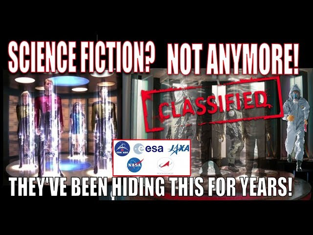 SPACE AGENCIES CAUGHT HIDING ADVANCED TECHNOLOGY