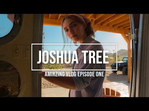 Joshua Tree Photo shoot Vlog 01, Amir Ebrahimi