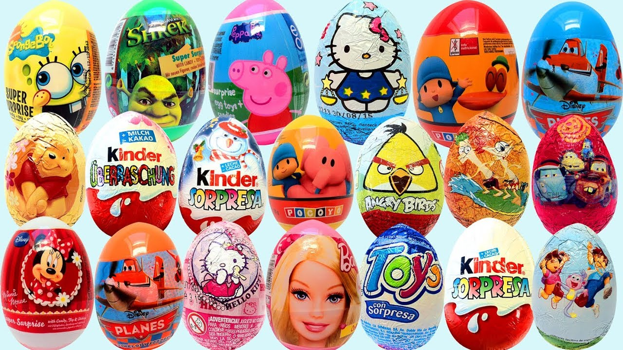 Surprise Eggs Cars Buy