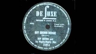 Roy Brown - Roy Brown Boogie