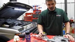 Water Pump Replacement Land Rover Discovery, Range Rover P38, Classic and Defender 90