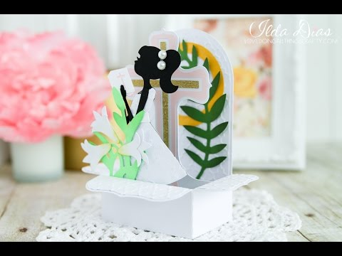 First Holy Communion Box Card