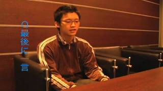 「東京俳優市場2010春」第2話から福元孝盛さんのインタビューです。