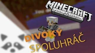 Divoký spoluhráč a nefunkční zapalovač! - Survival games #4 | Minecraft PE | Felix [CZ/SK]