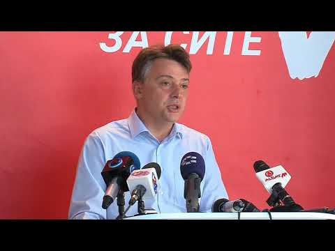 Петре Шилегов прогласи победа во првиот изборен круг за градоначалник на Скопје