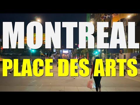4K Montreal - Place Des Arts - IPhone Pro【4K】